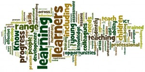 A Word Cloud of the text in the 33 Standards for NQTs.